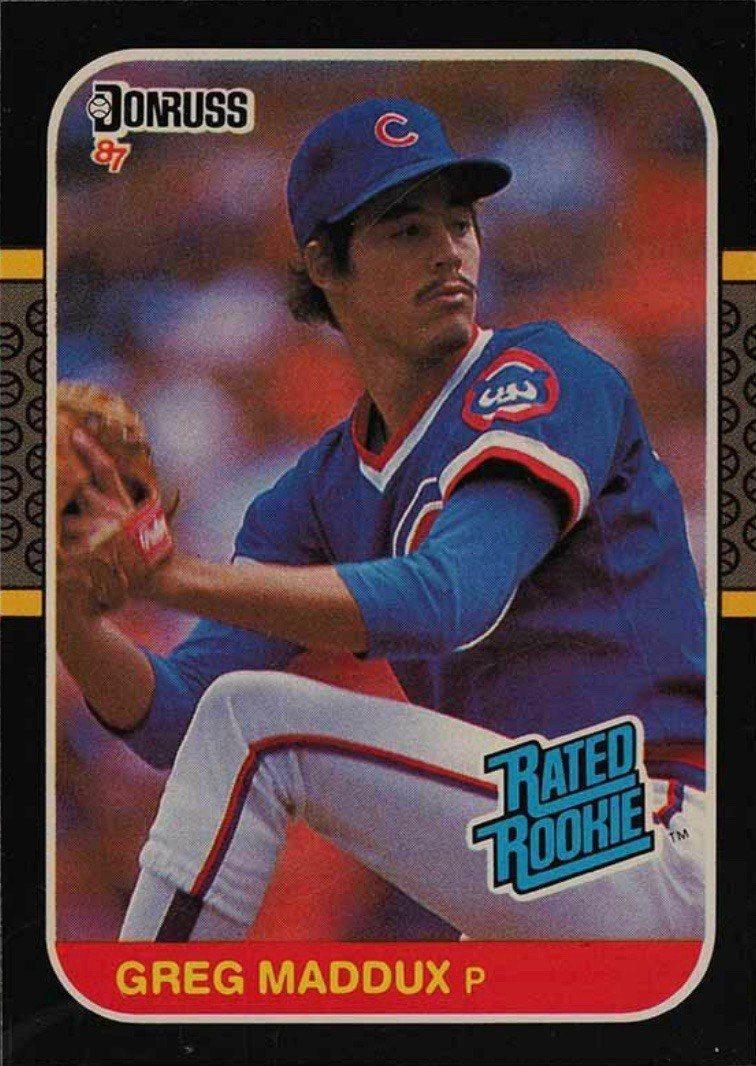 1987 Donruss #36 Greg Maddux Rookie Card