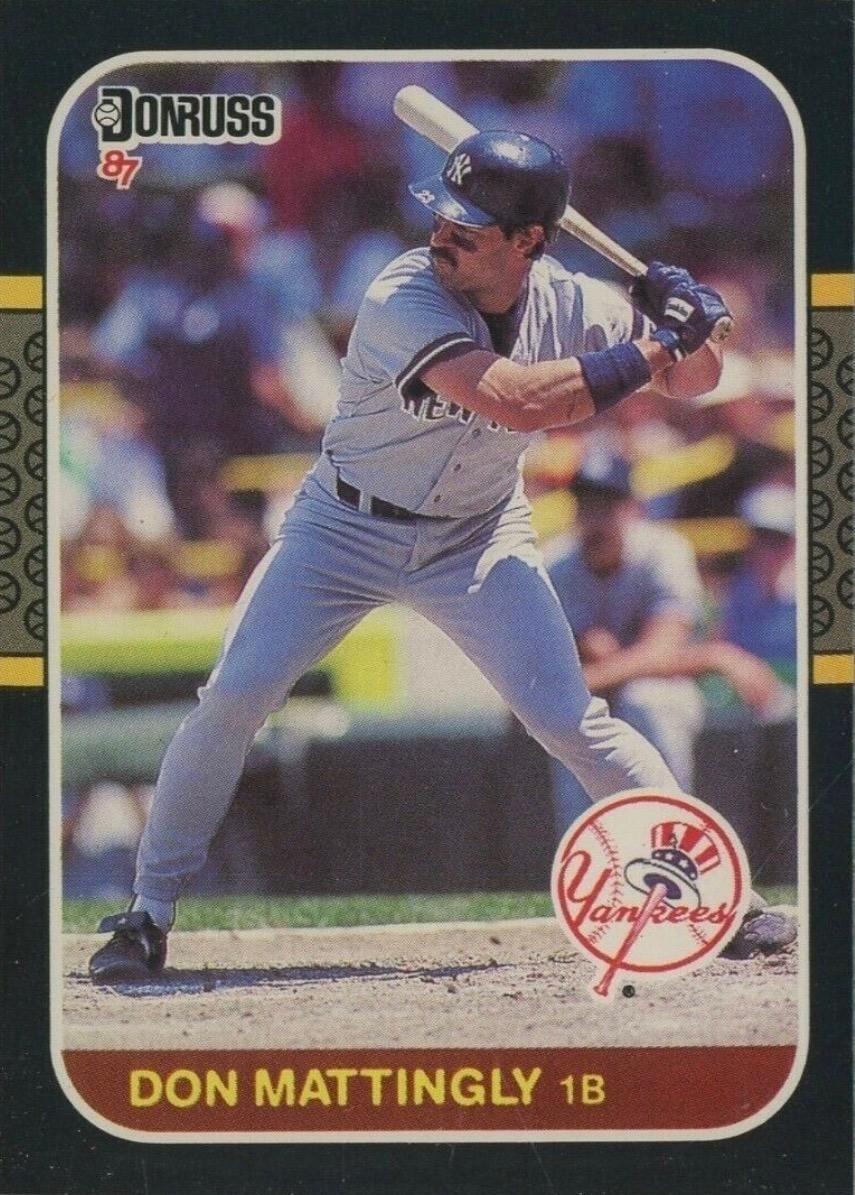 1987 Donruss #52 Don Mattingly Baseball Card
