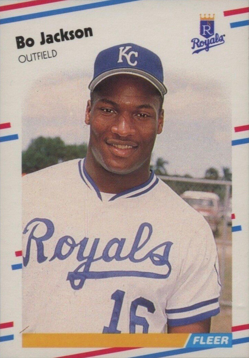 1988 Fleer #260 Bo Jackson Baseball Card