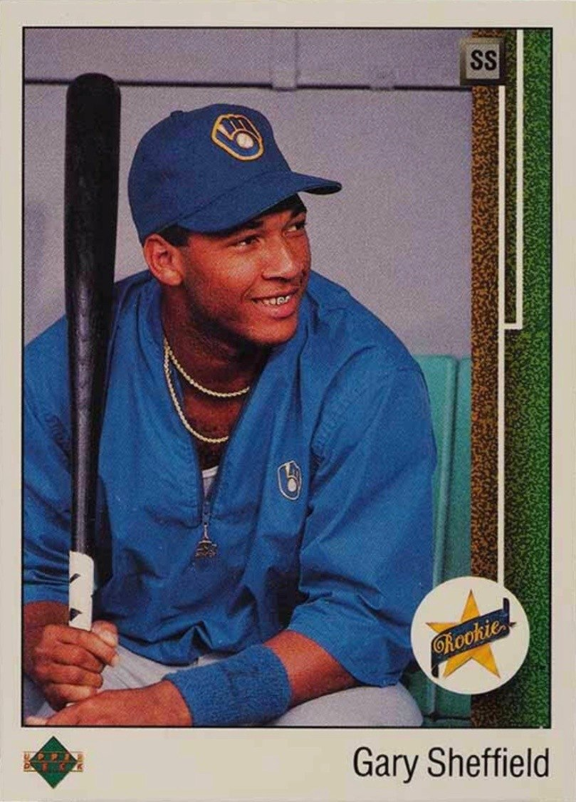 1989 Upper Deck #13 Gary Sheffield Rookie Card