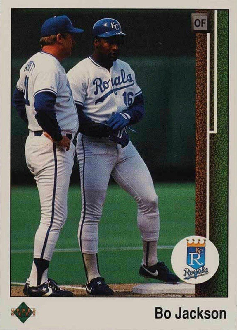 1989 Upper Deck #221 Bo Jackson Baseball Card