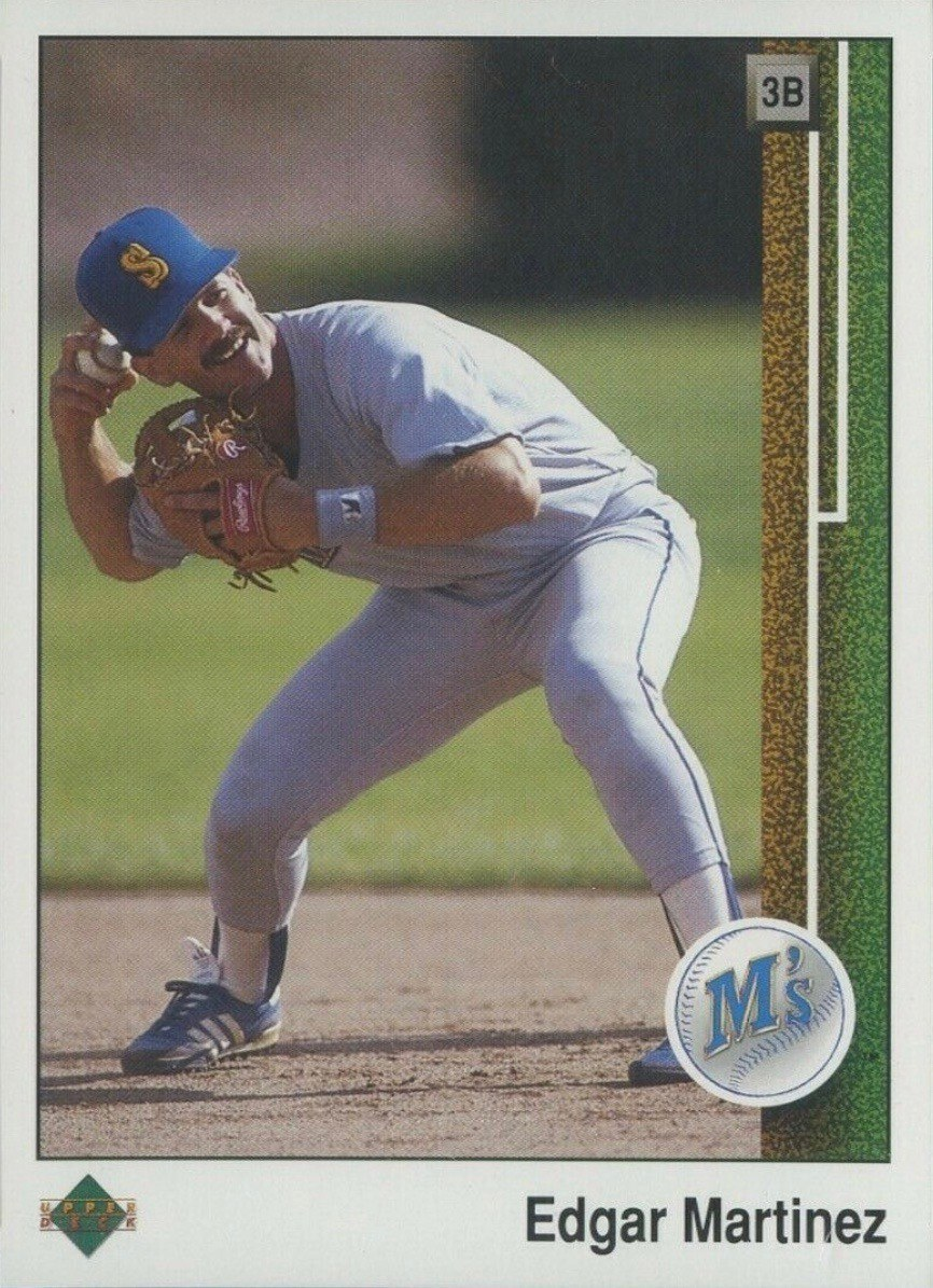 1989 Upper Deck #768 Edgar Martinez Rookie Card