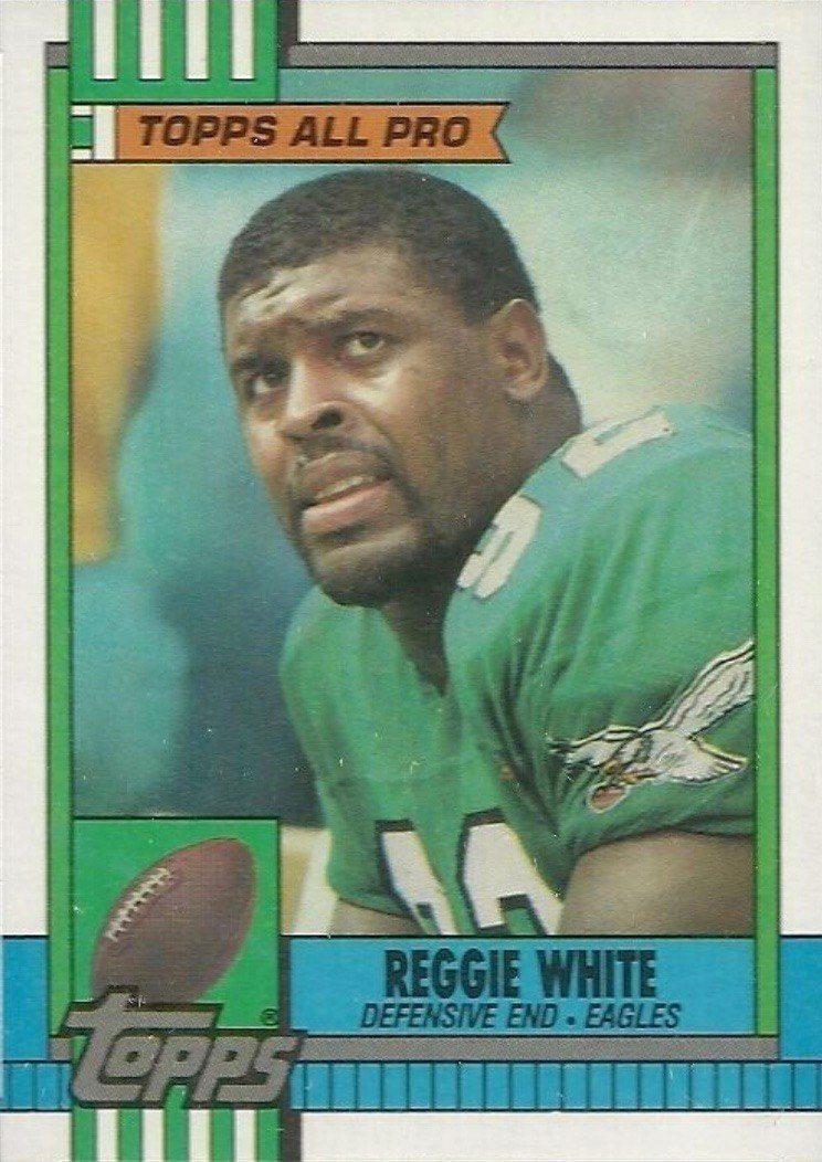 1990 Topps #86 Reggie White Football Card