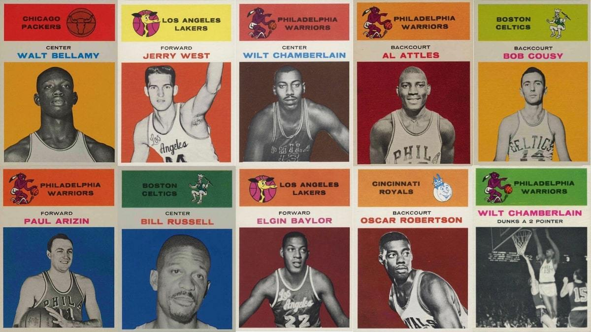 Most Valuable 1961 Fleer Basketball Cards