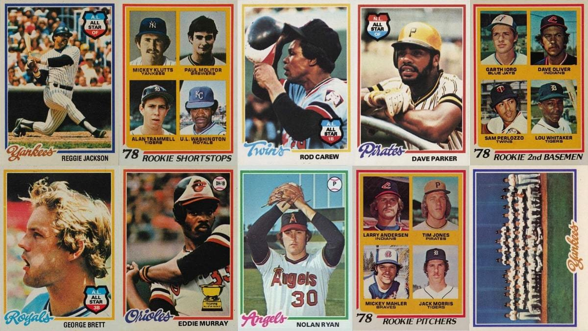 Most Valuable 1978 Topps Baseball Cards