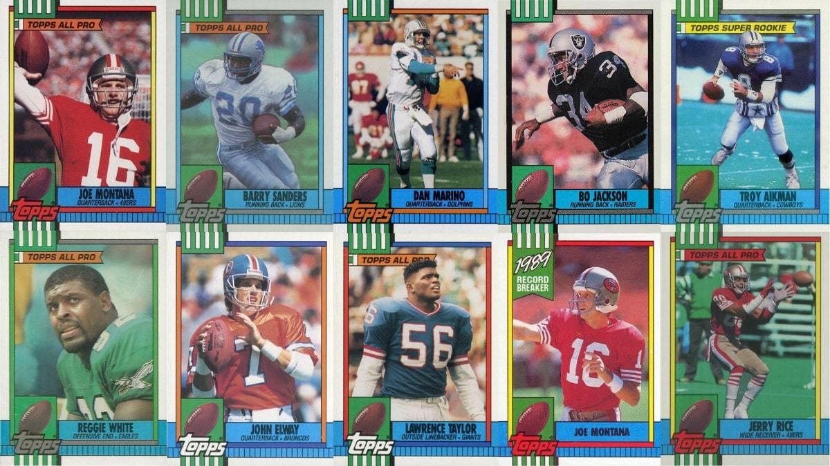 Most Valuable 1990 Topps Football Cards