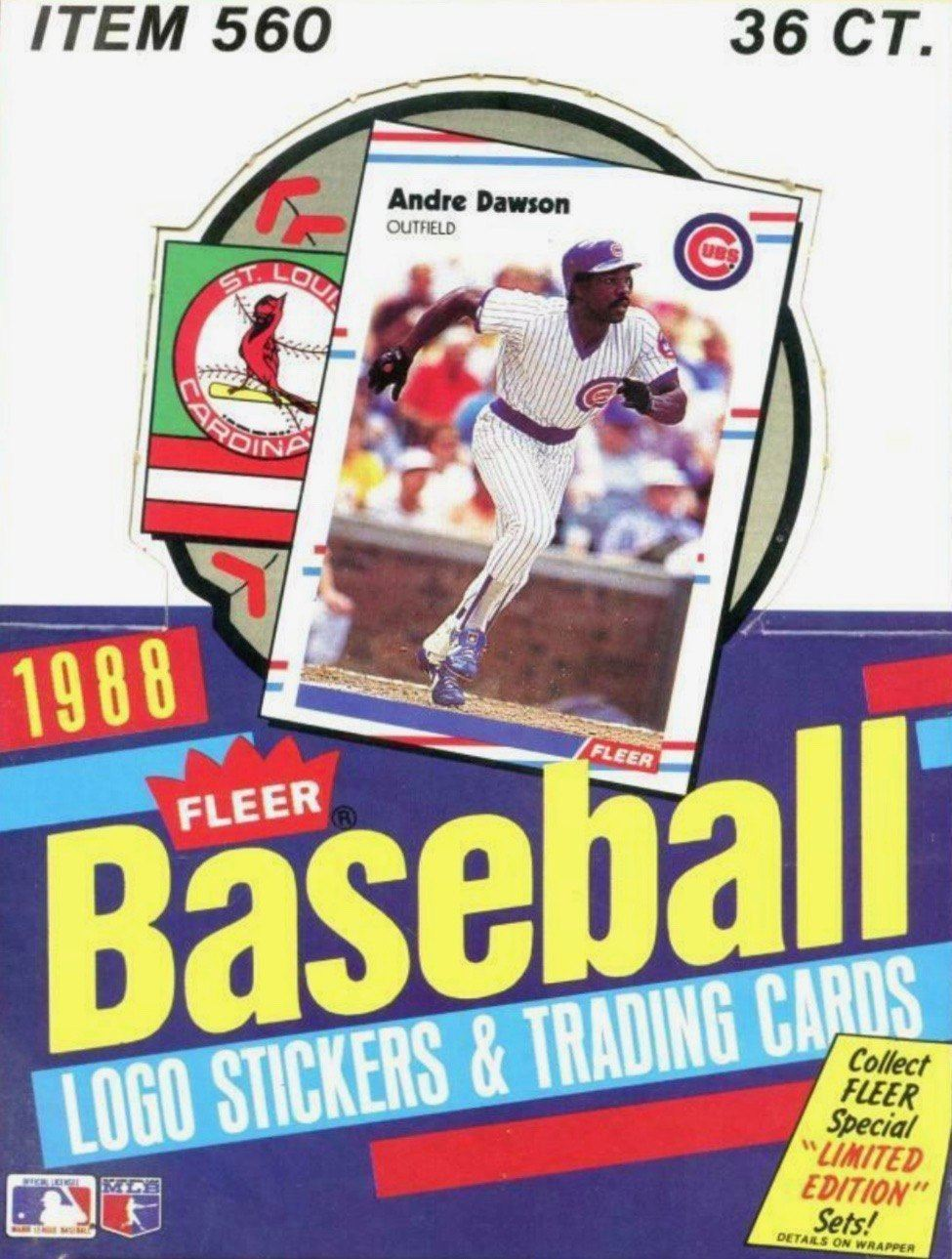 Unopened Box of 1988 Fleer Baseball Cards