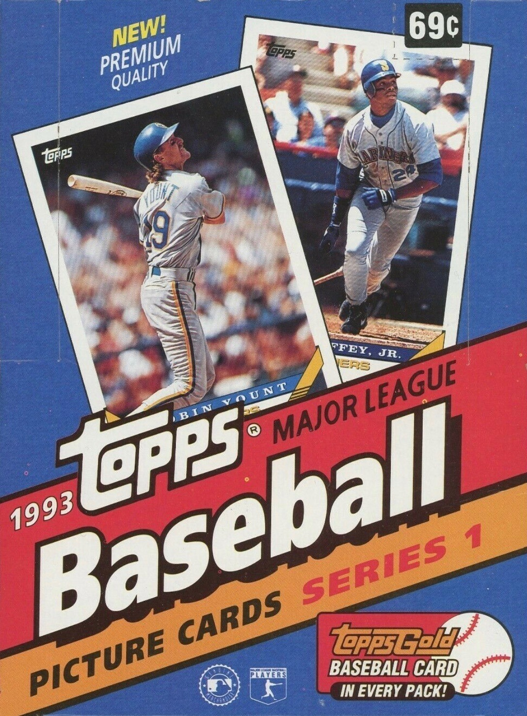 Unopened Box of 1993 Topps Baseball Cards