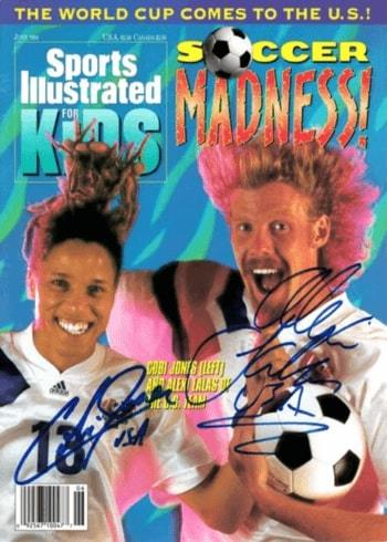 1994 SI for Kids Magazine Alexi Lalas Cobi Jones World Cup
