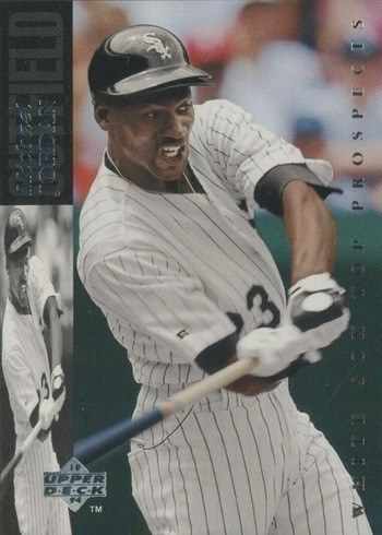 1994 Upper Deck Minor League Silver Base #MJ23 Michael Jordan Baseball Card