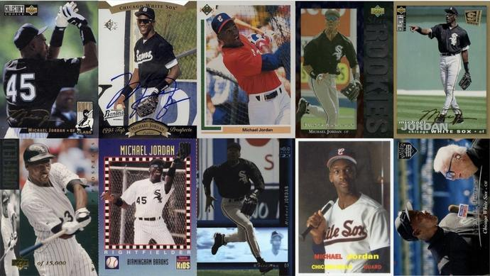 Most Valuable Michael Jordan Baseball Cards Collectors Guide