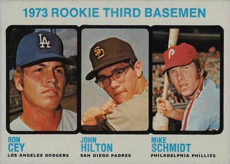1973 Topps 615 Mike Schmidt Rookie Card