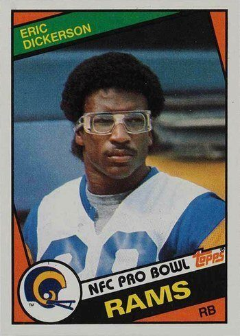 1984 Topps #280 Eric Dickerson Rookie Card