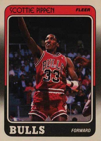 1988 Fleer Scottie Pippen Rookie Card