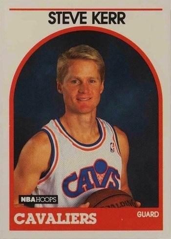 1989 NBA Hoops #351 Steve Kerr Rookie Card