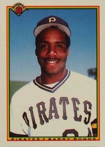 1990 Bowman #181 Barry Bonds Baseball Card