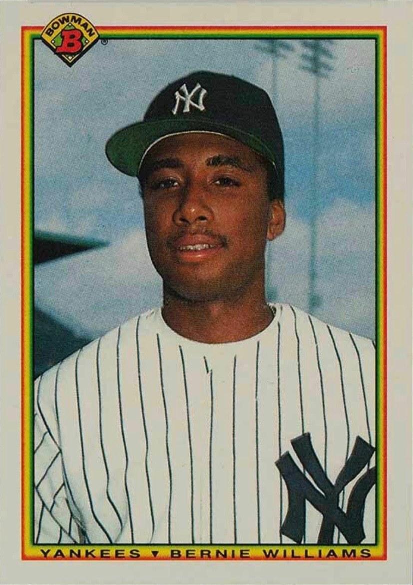 1990 Bowman #439 Bernie Williams Rookie Card