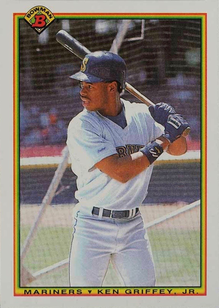 1990 Bowman #481 Ken Griffey Jr. Baseball Card