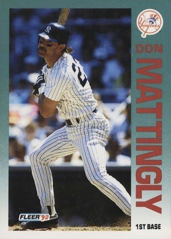 1992 Fleer #237 Don Mattingly Baseball Card