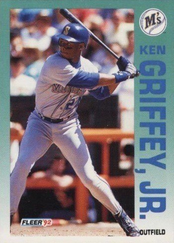 1992 Fleer #279 Ken Griffey Jr. Baseball Card