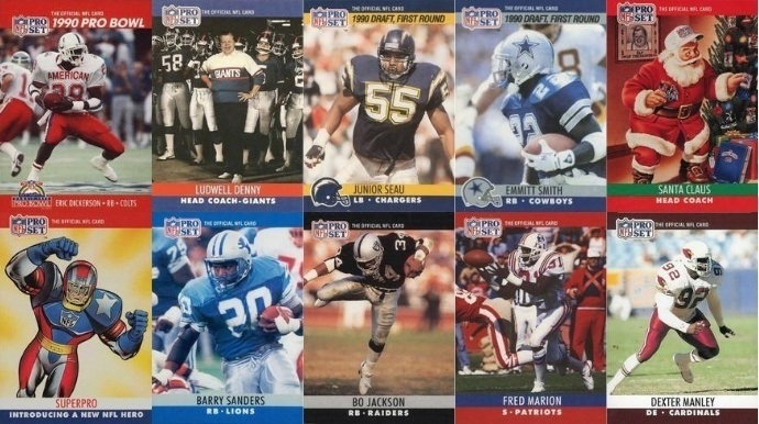 Most Valuable 1990 Pro Set Football Cards