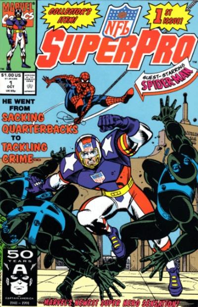 SuperPro Comic Book #1 Cover