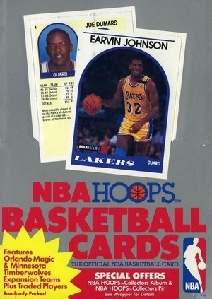 Unopened Box of 1989 Hoops Basketball Cards