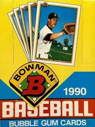 Unopened Box of 1990 Bowman Baseball Cards