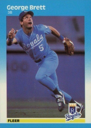 1987 Fleer #366 George Brett Baseball Card