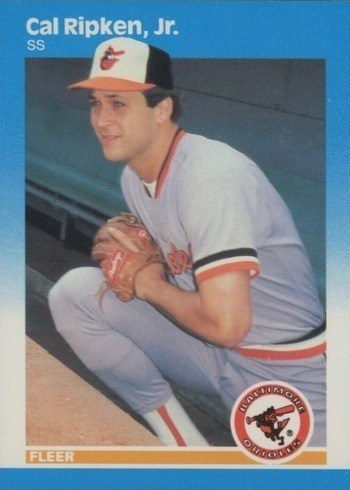 1987 Fleer #478 Cal Ripken Jr. Baseball Card