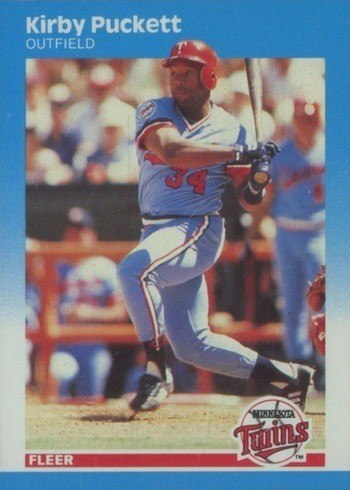 1987 Fleer #549 Kirby Puckett Baseball Card