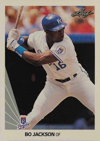 1990 Leaf #125 Bo Jackson Baseball Card