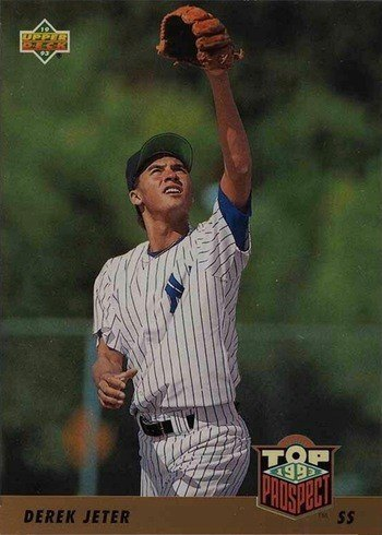 1993 Upper Deck #449 Derek Jeter Rookie Card