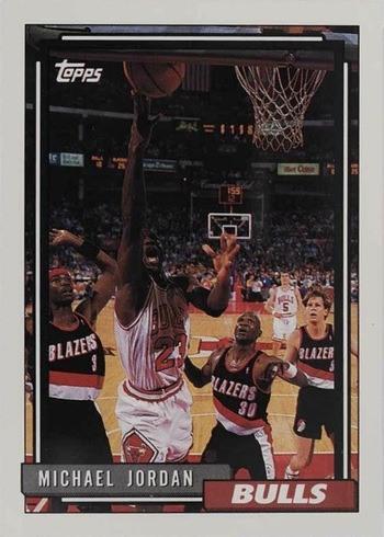 1992 Topps #141 Michael Jordan Basketball Card
