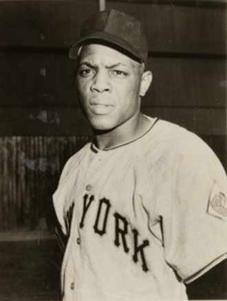 Image of Willie Mays Used on His 1952 Topps Card
