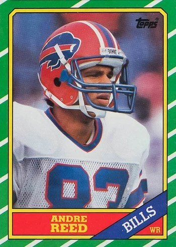 1986 Topps #388 Andre Reed Rookie Card