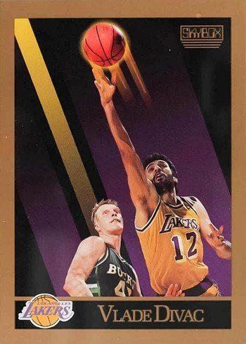 1990 Skybox #135 Vlade Divac Rookie Card