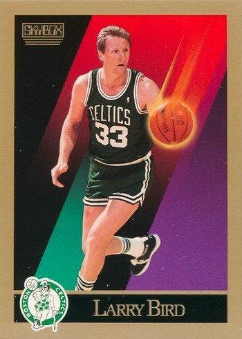 1990 Skybox #14 Larry Bird Basketball Card