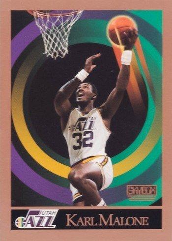 1990 Skybox #282 Karl Malone Basketball Card