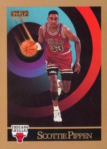 1990 Skybox #46 Scottie Pippen Basketball Card