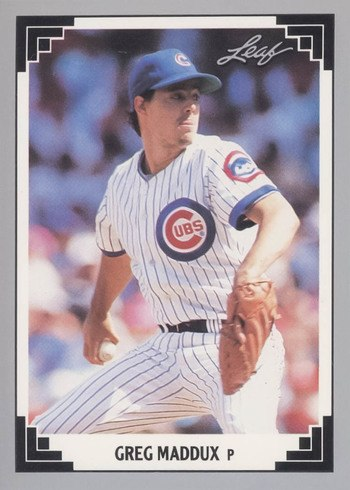 1991 Leaf #127 Greg Maddux Baseball Card
