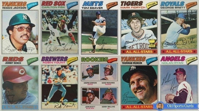 13 Most Valuable 1977 Topps Baseball Cards 2