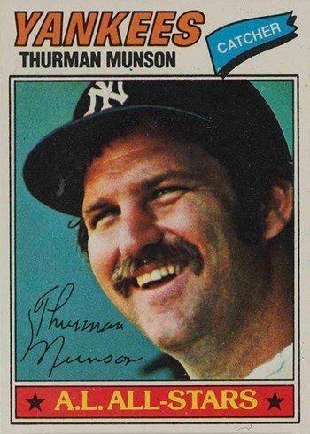 1977 Topps #170 Thurman Munson Baseball Card
