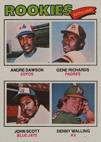 1977 Topps #473 Andre Dawson Rookie Card