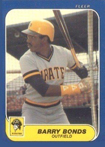 1986 Fleer Update #14 Barry Bonds Rookie Card