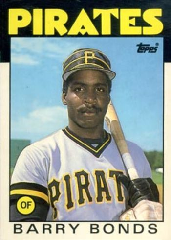 1986 Topps Traded Tiffany #11T Barry Bonds Rookie Card