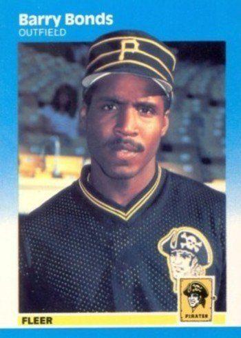 1987 Fleer Glossy #604 Barry Bonds Rookie Card