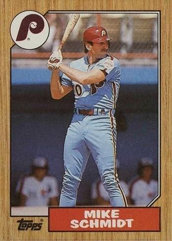 1987 Topps #430 Mike Schmidt Baseball Card