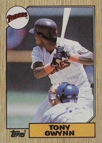 1987 Topps #530 Tony Gwynn Baseball Card