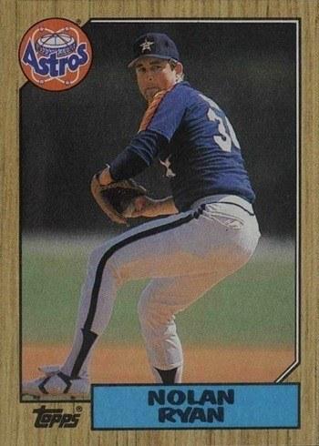 1987 Topps #757 Nolan Ryan Baseball Card